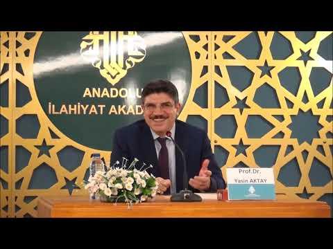Prof. Dr. Yasin AKTAY - Düşünür; Muhammed ARKOUN