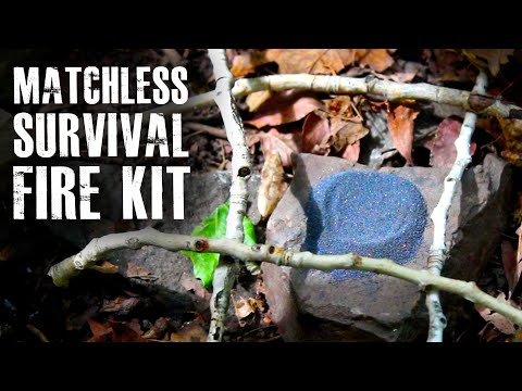 survival - How to start a survival fire without matches, using chemistry! If you like this, check out