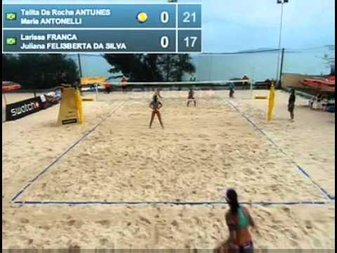 Larissa-Juliana x Talita e Maria Elisa  - Sanya (видео)