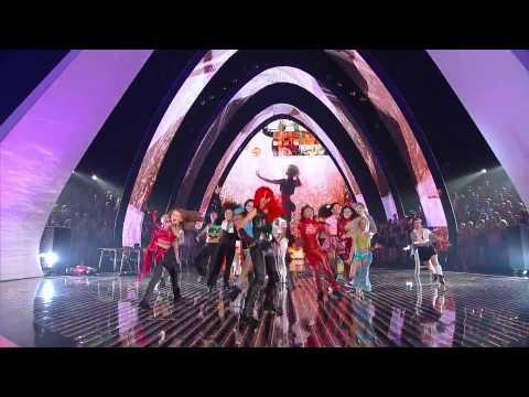 Lady Gaga,HD 1080p,Britney Spears, ,Jo Calderone,live tribute, VMA 2011, HD 1080p