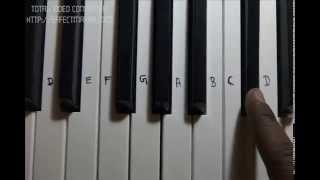 image of Galliyan Ek Villian Full Song Piano Notes how to play