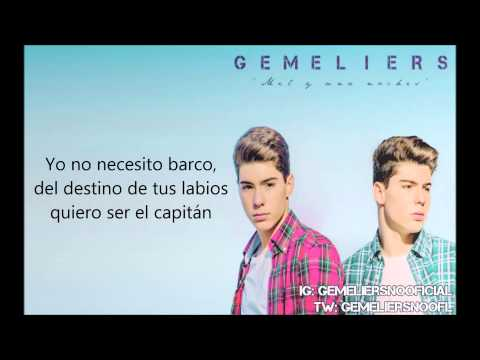Video Mil y una noches - Gemeliers (Letra) download in MP3, 3GP, MP4, WEBM, AVI, FLV January 2017
