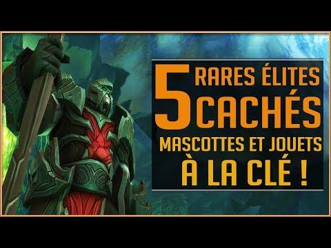 World Of Warcraft - Les 5 Rares Élites Cachés d'Argus / Nouveaux Jouets et Mascottes ! (видео)
