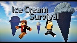 Video Minecraft - Ice Cream Survival #Ep1 La crème ! ( Avec Oxilac ) MP3, 3GP, MP4, WEBM, AVI, FLV Mei 2017