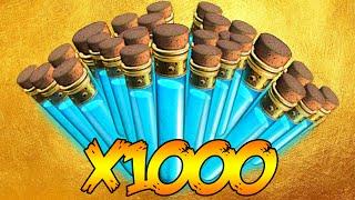 """1000 GOBBLE GUM OPENING!"" PRE REVELATIONS DLC LIQUID DIVINIUM OPENING GAMEPLAY! (BO3 Zombies)"
