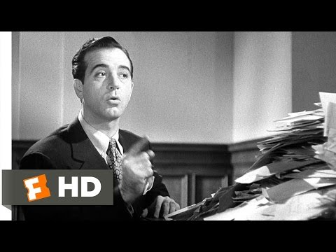 Miracle On 34th Street (4/5) Movie CLIP - The One And Only Santa Claus (1947) HD