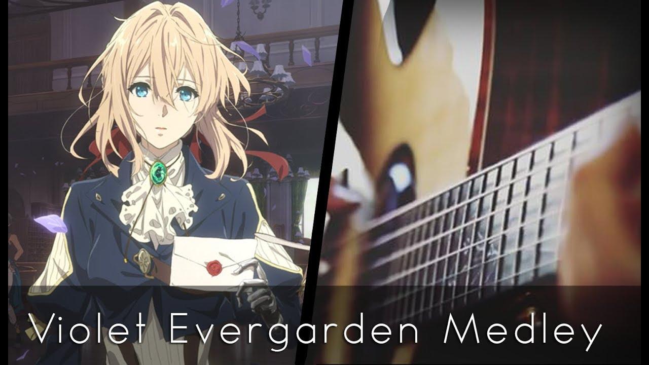 Violet Evergarden OST Medley (Acoustic Guitar)