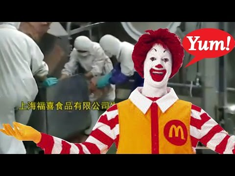 McDonalds Getting Rotten Meat From Chinese Factories?