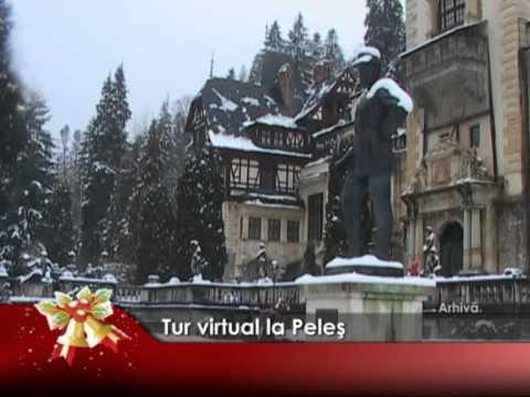 Tur virtual la Peleş