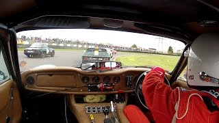 First event of the season that also celebrated HSCC's 50th Anniversary at the circuit they ran their very first event, Castle Combe Circuit in Wiltshire (UK). You're on-board with Car 33, TVR 3000M that earlier in the day during a very wet practice qualified 8th from 28 in the 70s Roadsports.