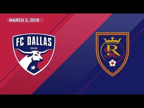 HIGHLIGHTS: FC Dallas vs. Real Salt Lake | March 3, 2018