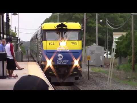 LIRR: Montauk Branch Rush Hour Diesels at Mastic-Shirley Feat. Cannonball Express #2798