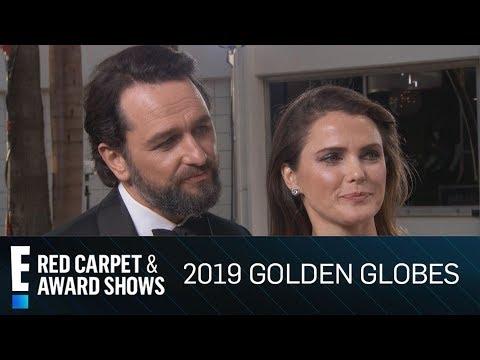Keri Russell & Matthew Rhys Joke About Golden Globe Noms | E! Red Carpet & Award Shows