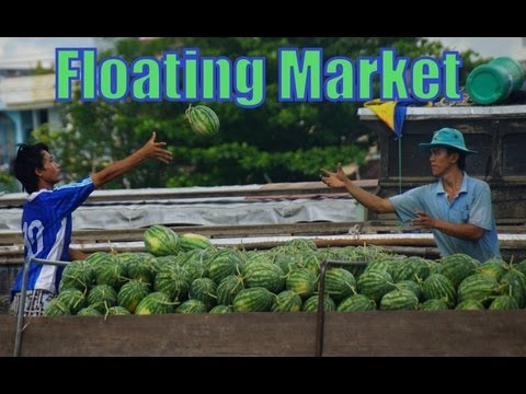 Cai Rang Floating Market tour of the Mekong Delta, Vietnam