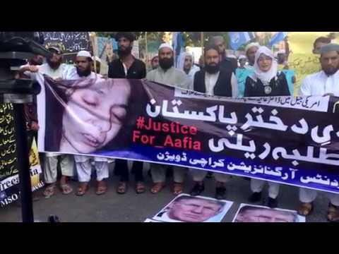 MSO Demo For Release Dr Aafia And Dr Fowzia's Speech At KPC On 30-March-2018