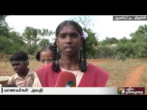 Residents-request-to-repair-roads-in-Manapparai-Trichy