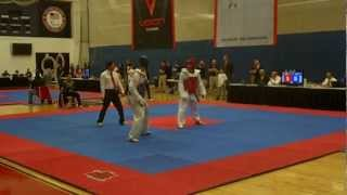 Steven Lopez vs Luke Ford 2013 USAT Team trials (fight 1)