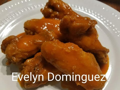 Alitas de Pollo Picantes Buffalo wings