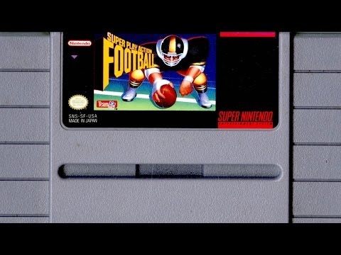 Super Play Action Football Super Nintendo