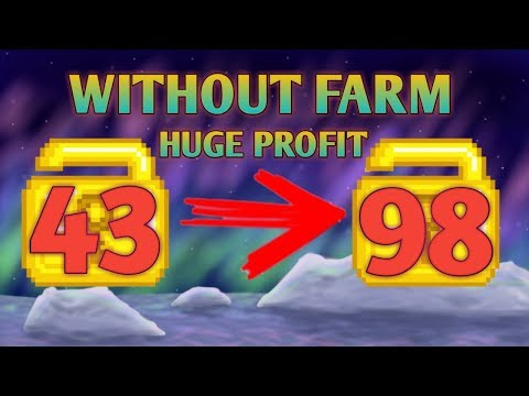 43 WLS TO 98 WLS | Growtopia - How To Profit #21