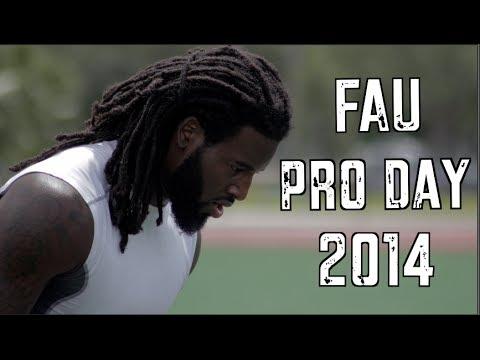 Randell Johnson 2014 Pro Day video.