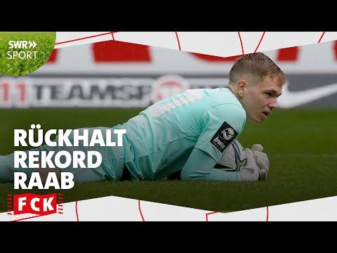 Rekordkeeper Raab hält Siegesserie - DEIN FCK #5 | SWR Sport