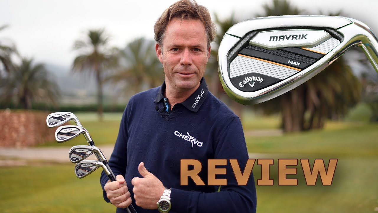 Callaway MAVRIK Irons, probably the longest irons ever made by Callaway