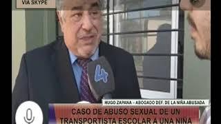 Skype   Hugo Zapana Abogado def  de la Niña Abusada   Las Mañanas de Posadas 21 09