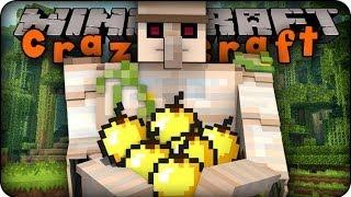 Minecraft Mods - CRAZY CRAFT 2.0 - Ep # 8 ' GOLEM DEFENDERS!!'