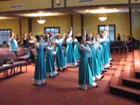 Grupo de Danza de Iglesia Ebenezer de Naples