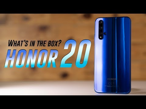 Honor 20 Unboxing And Hands-on