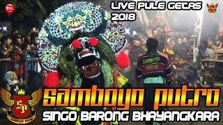 Video Rampokan Singo Barong BHAYANGKARA SAMBOYO PUTRO Live Pule Getas 2018 MP3, 3GP, MP4, WEBM, AVI, FLV Agustus 2018