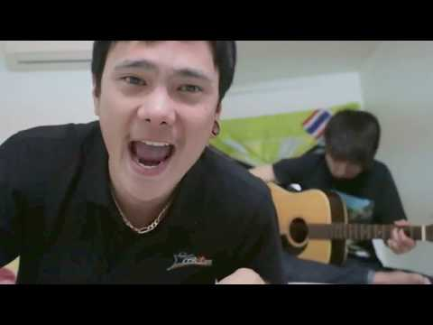 Just Holla - Thaitanium (Acoustic Cover) Suttichok  &  Newz.JIrawat