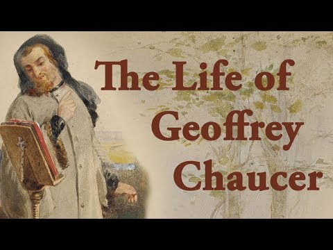 a brief look into the life of geoffrey chaucer and his achievements Need help with the pardoner's tale in geoffrey chaucer's the launches into a long criticism the earth restlessly because death will not take his life.