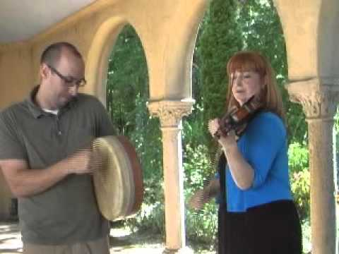 Irish Fiddle & Bodhran at Caramoor: Cady Finlayson & Tim Alworth
