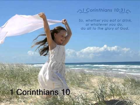 1 corinthians 10 - 1 Corinthians 10 (New International Version, ©2010) 1 Corinthians 10 Warnings From Israel's History 1 For I do not want you to be ignorant of the fact, broth...