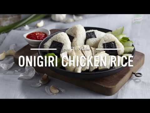 Onigiri Chicken Rice