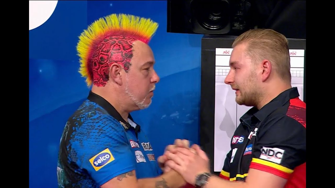 """Emotional Dimitri van den Bergh on Matchplay final defeat: """"I have tears but I'm very proud"""""""