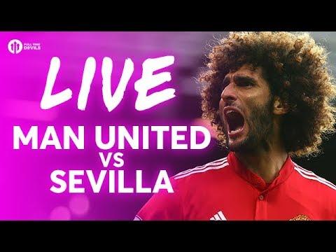 Manchester United vs Sevilla LIVE CHAMPIONS LEAGUE TEAM NEWS STREAM