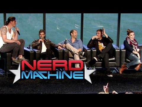 Haven - Conversation Highlights - Nerd HQ 2013 Subscribe to The Nerd Machine: http://goo.gl/Le9ha Haven Highlights: Conversation with the Cast - Nerd HQ (2013) HD - ...