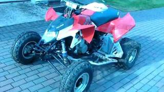 7. 2009 Polaris Outlaw 525 S with HMF Walkaround