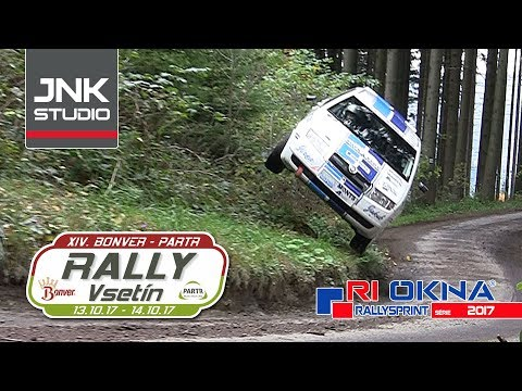 XIV. Bonver-Partr Rally Vsetín 2017 (crash & action)
