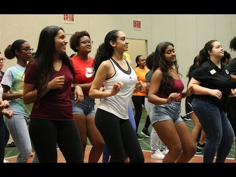 CAB celebrates Hispanic Heritage month with Let's get ready to Rumbao