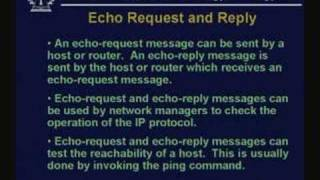 Lecture - 33 DHCP And ICMP