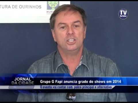 Lançamento dos Shows FAPI 2014 Ourinhos