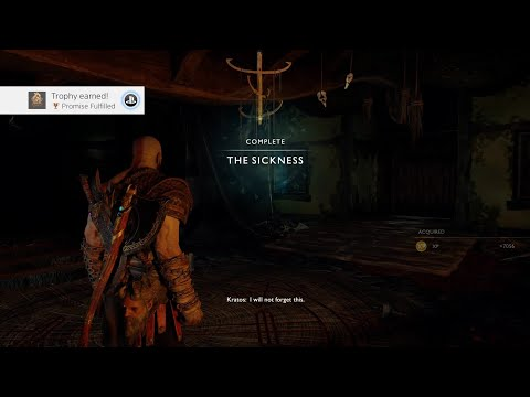 God of War - How to unlock Promise Fulfilled Trophy