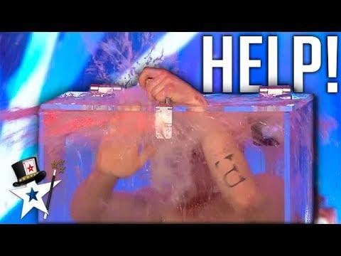 Most DANGEROUS Card Trick Ever Goes WRONG on Britain's Got Talent 2019 | Magicians Got Talent