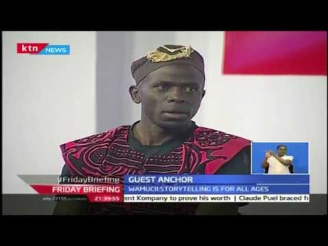 Friday Briefing: Guest Anchor with Susan Wamucii story telling 28th October 2016