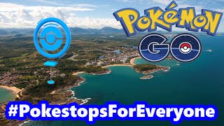 Pokémon GO Without Pokestops and Gyms! #PokestopsForEveryone by Pokémon GO Gameplay