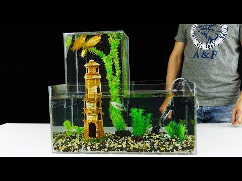 How to Build Unique Multi Level Aquarium v2.0_Akvárium. Legeslegjobbak